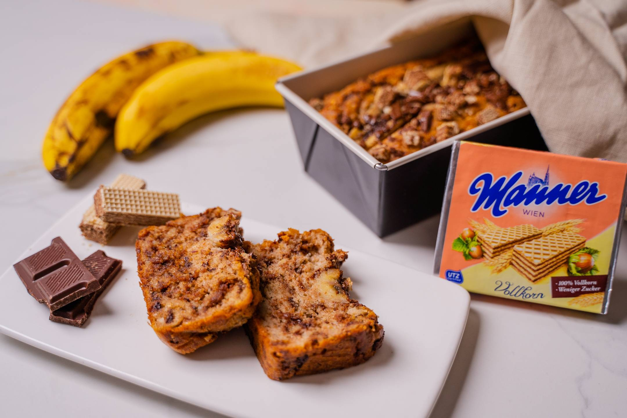 Manner Banana Bread (vegan)
